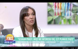 Pytanie o plany macierzyńskie podczas rekrutacji - Pytanie na śniadanie w TVP 2